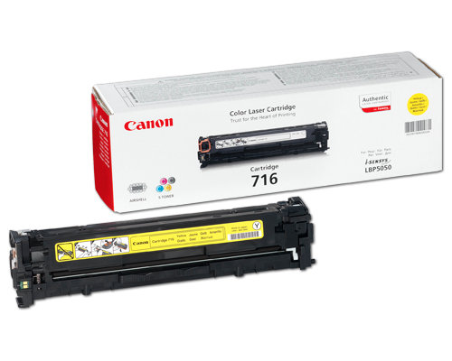 Original-Toner Canon 716Y yellow