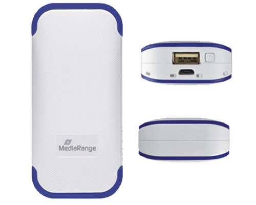 MediaRange Power Bank 4400