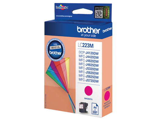 Original Druckerpatrone Brother LC-223M magenta