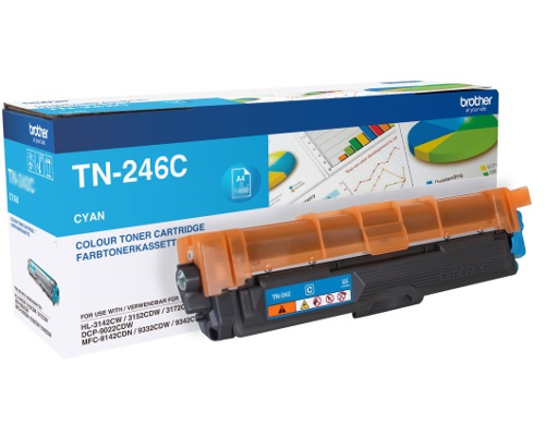 Original-Toner Brother TN-246C Cyan