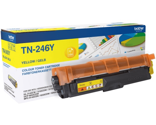 Original-Toner Brother TN-246Y yellow