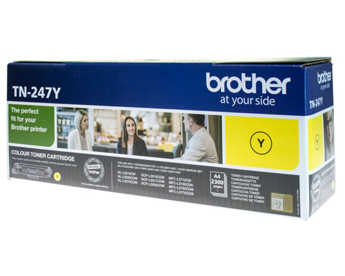 Original-Toner Brother TN-247Y
