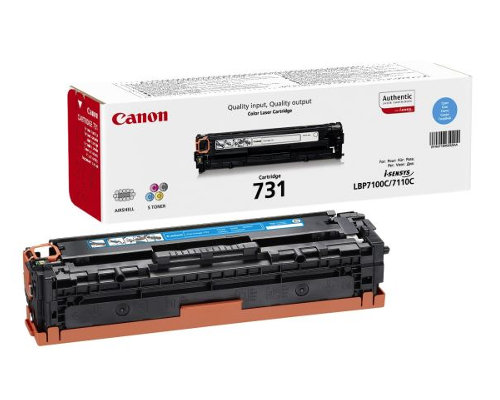 Original-Toner Canon Cartridge 731C (6271B002) cyan