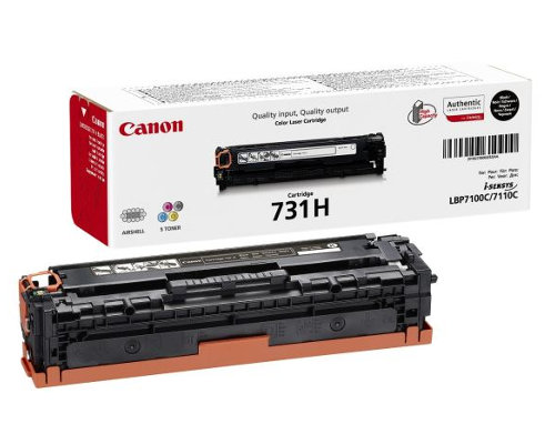 Original-Toner Canon Cartridge 731H (6273B002) Black
