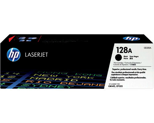 Original-Toner HP CE320A (Nr.128A) Black