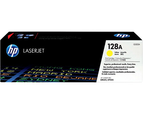 Original-Toner HP CE322A (Nr.128A) yellow