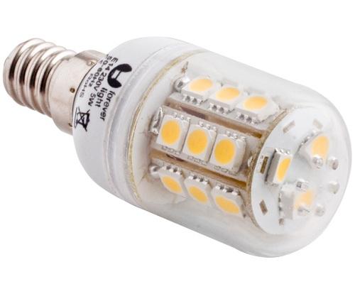 LED-Lampe E14, 5 Watt (entspricht einer 40 Watt Glühbirne)