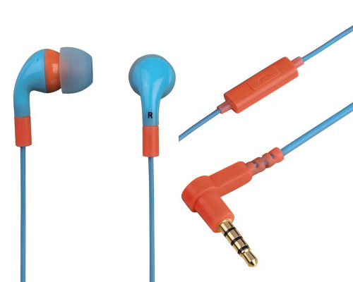 Hama In-Ear Stereo Kopfhörer - Flip Flop in blau/orange