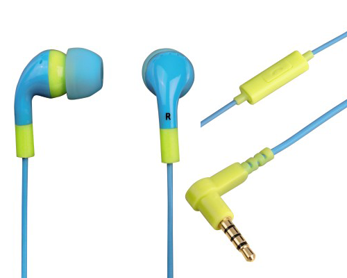 Hama In-Ear Stereo Kopfhörer - Flip Flop in ocean/lemon