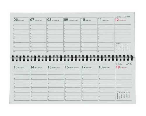 Schreibtischquerkalender 2018 for Schreibtisch querkalender 2018